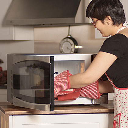 Is it safe to thaw food in the microwave?