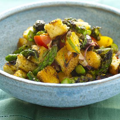 grilled-asparagus-panzanella