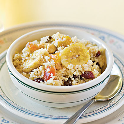 Cool Couscous with Fruit and Nuts Recipe