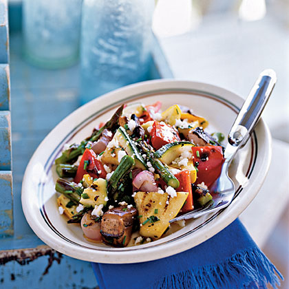 Grilled Vegetable Salad Recipe | MyRecipes