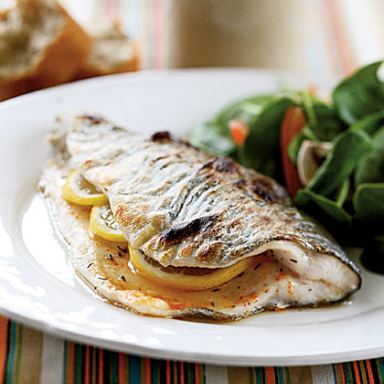 Spicy Lemon Trout