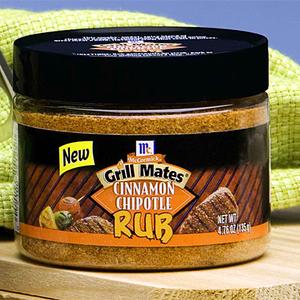 McCormick's Cinnamon Chipotle Rub