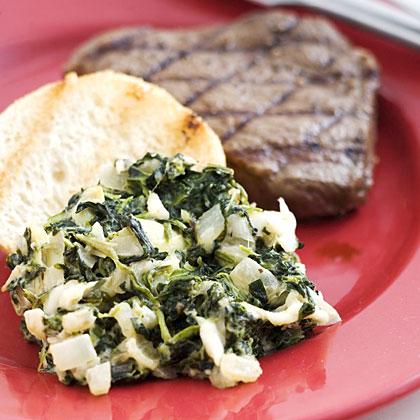 Spinach-Artichoke Gratin