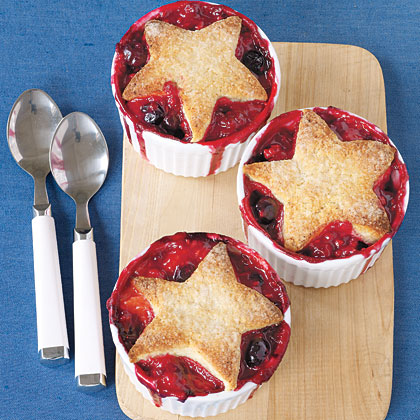 Star Berry Cobblers Recipe