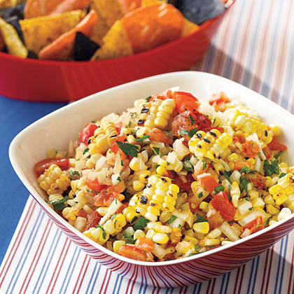 Roasted Corn Salsa Recipe - 2 | MyRecipes