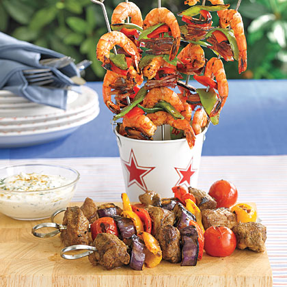 Lamb Kebabs with Yogurt Sauce