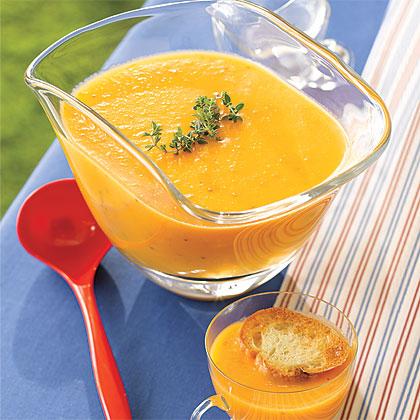 Chilled Yellow Tomato Soup Recipe