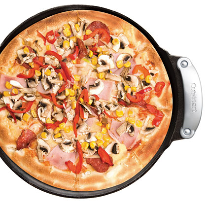 Cast Iron Grilled Pizza Set