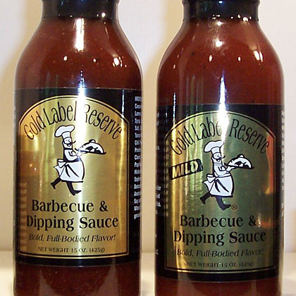 Gold Label Reserve: Barbecue & Dipping Sauce