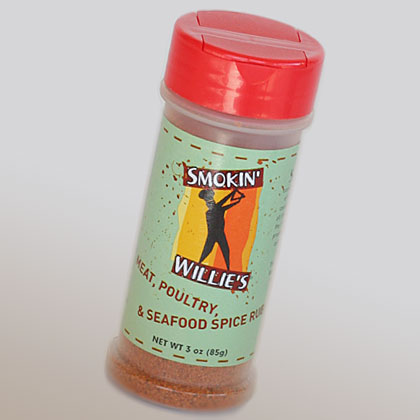Smokin Willie's: Meat, Poultry, and Seafood Spice Rub