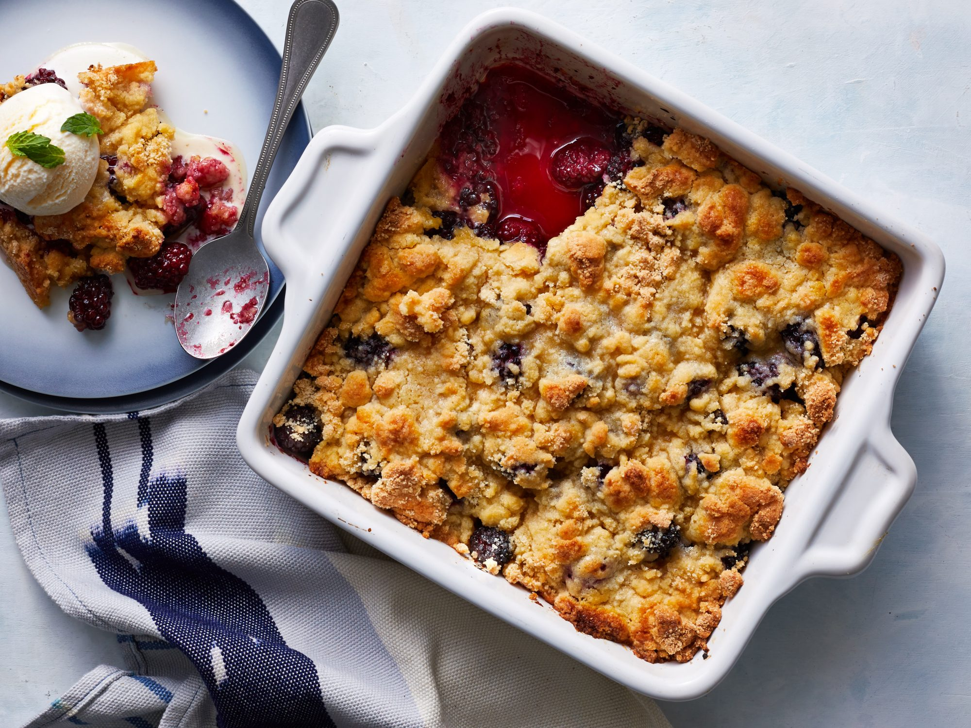 Easy Blackberry Cobbler image