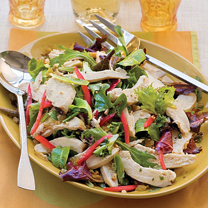 Grilled Chicken Supper With Citrus Vinaigrette Recipe