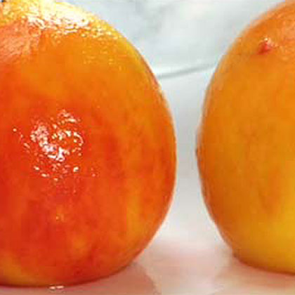"""Skinning a PeachSome recipes require removing the """"fuzz"""" from this delicious fruit. Discover how to get perfectly skinned peaches every time with this simple technique."""