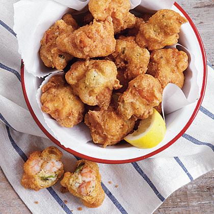 Shrimp and Okra Hush Puppies Recipe