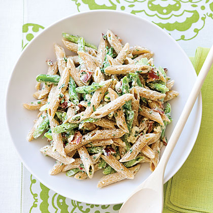 Green Bean and Whole-grain Penne Salad Recipe