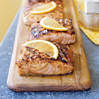 Maple Grilled Salmon Recipe Myrecipes
