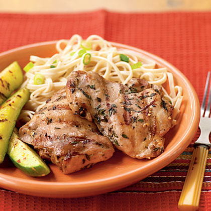 Soy-Marinated Chicken Thighs