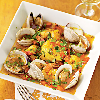 Shellfish with Chipotle and Tequila Recipe