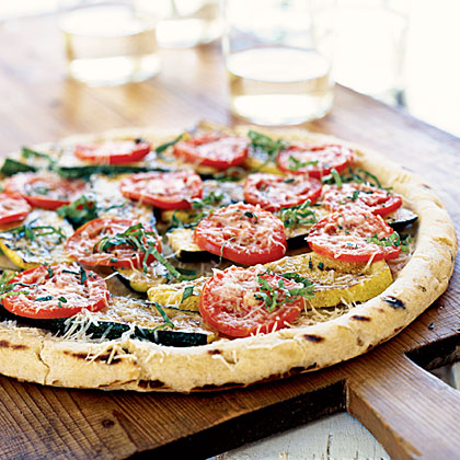 Summer Squash Pizza Recipe