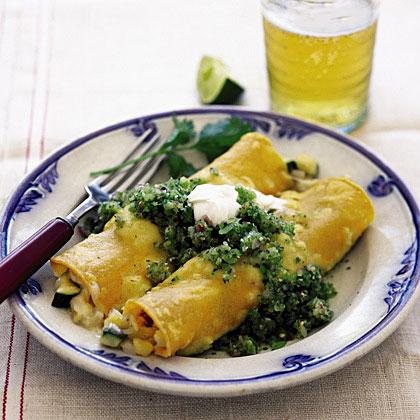 Chicken Enchiladas with Green SalsaRecipe