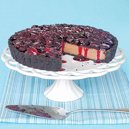 Chocolate-Cherry TartRecipe