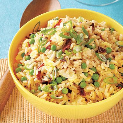 Sweet Pea Fried Rice Recipe
