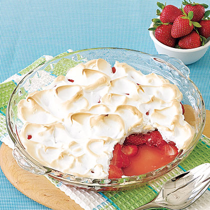 Strawberry Meringue Gratin Recipe