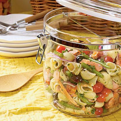 Salmon Niçoise Pasta SaladRecipe