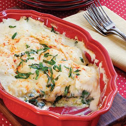 Spinach Ravioli Lasagna Recipe Myrecipes Com
