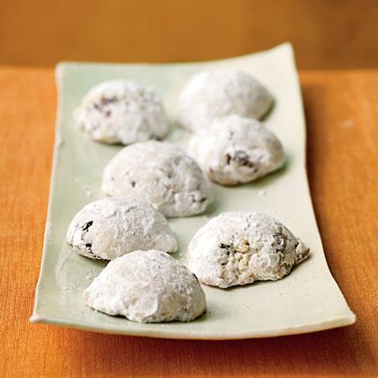 Cherry-Pistachio Wedding Cookies