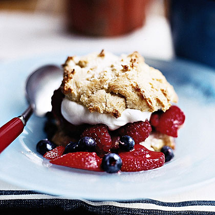 Berry Shortcakes Recipe