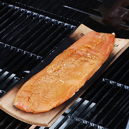 How to Grill on a Wooden Plank