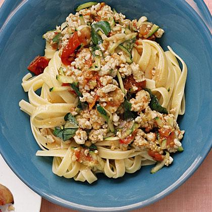 Summer Pasta Bolognese