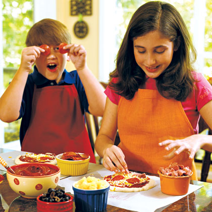 Back-to-School Pizza Party