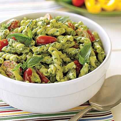 Pesto pasta salad recipe myrecipes