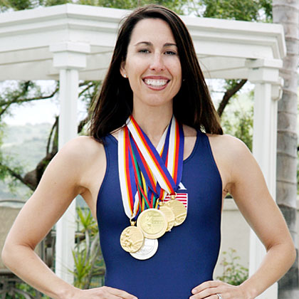 Janet Evans Olympian