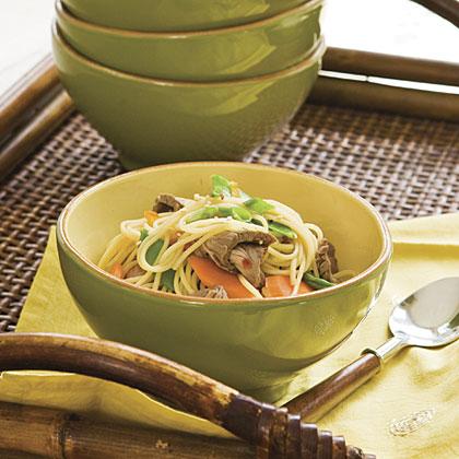 Orange Beef Pasta Recipe