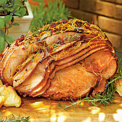 Honeycomb Spiral Ham