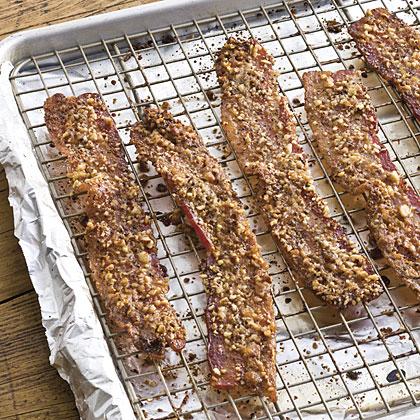 Pecan Sugared Bacon Recipe