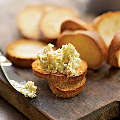 Hot Artichoke-Cheese Dip
