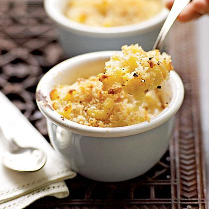 Three-Cheese Macaroni and CheeseRecipe