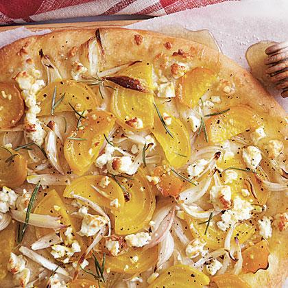 Roasted Beet Pizza (Pizza alla Barbabietola Arrostito) Recipe