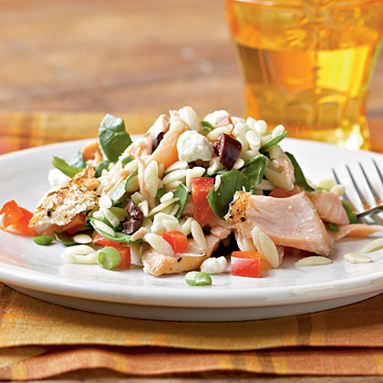 Healthy mediterranean entr es under 300 calories myrecipes for Gustafson s smoked fish