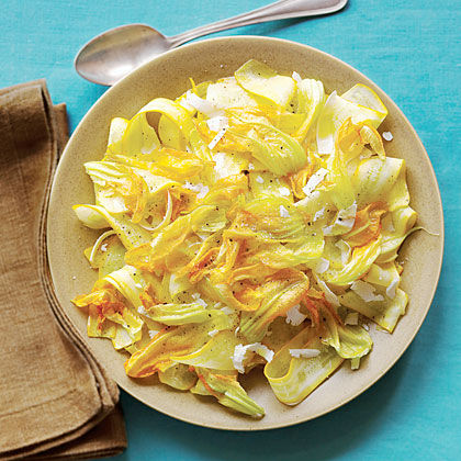 Shaved Summer Squash Salad