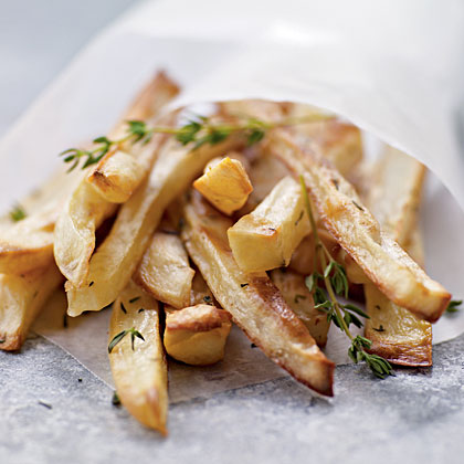 Steak Frites with Shallot Pan ReductionRecipe