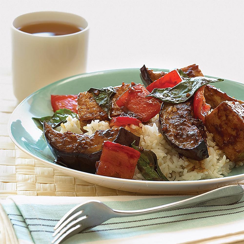 Stir-fried Eggplant and Tofu Recipe