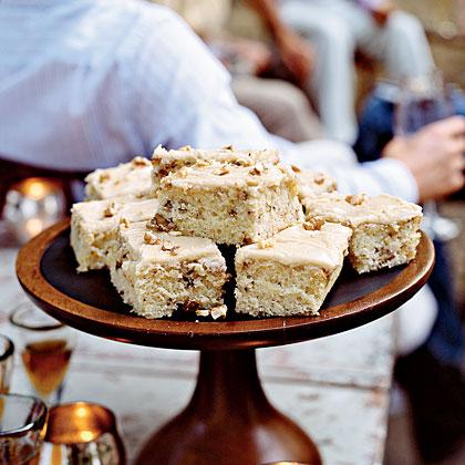 Walnut Cake with Praline FrostingRecipe