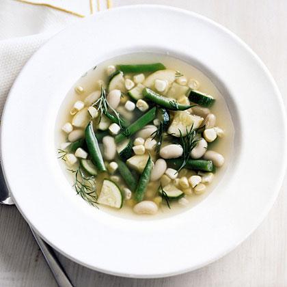 End-of-Summer Vegetable Soup