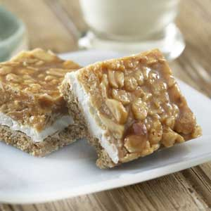 Salted Peanut Bars Recipe