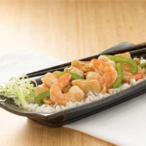 Szechwan Chicken and Shrimp Recipe